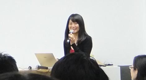 今回の企画立案者である保井先生。なんでも、このエリマネ女子会は、飲み会の席で企画が上がったとの秘話も。