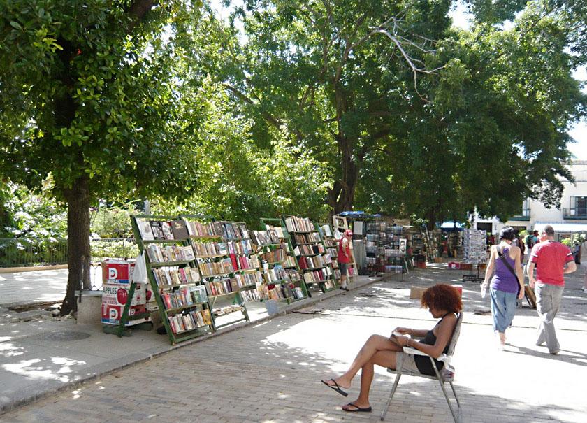 ハバナ旧市街:アルマス広場 La Habana Vieja: Plaza de Armas