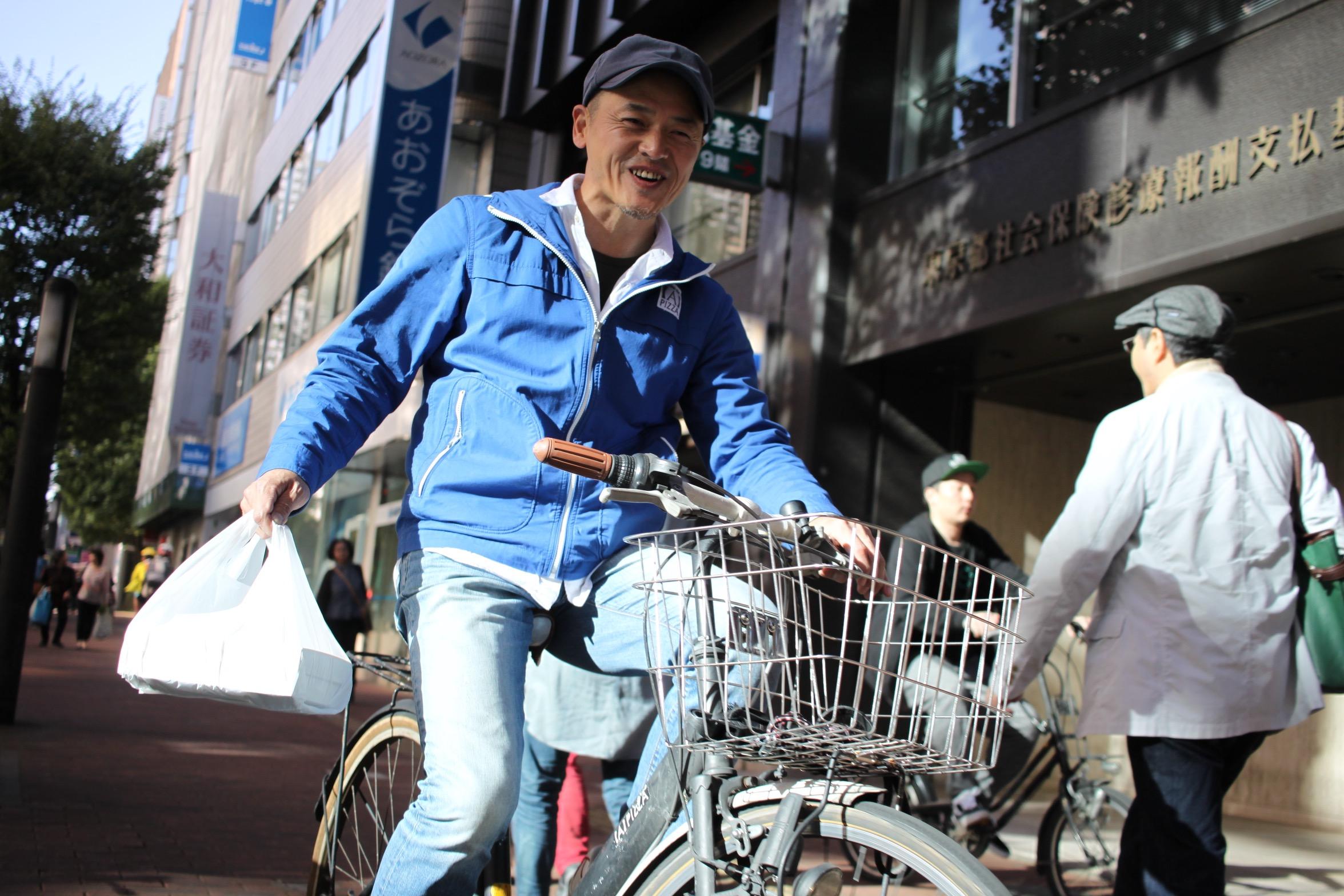 【A】PIZZA(エーピッツァ)店長の平井孝夫さん