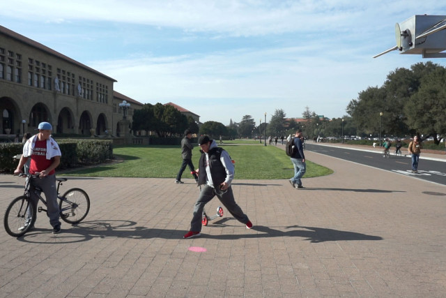 Stanford University, Stanford, CA (USA). Video still: Assocreation.