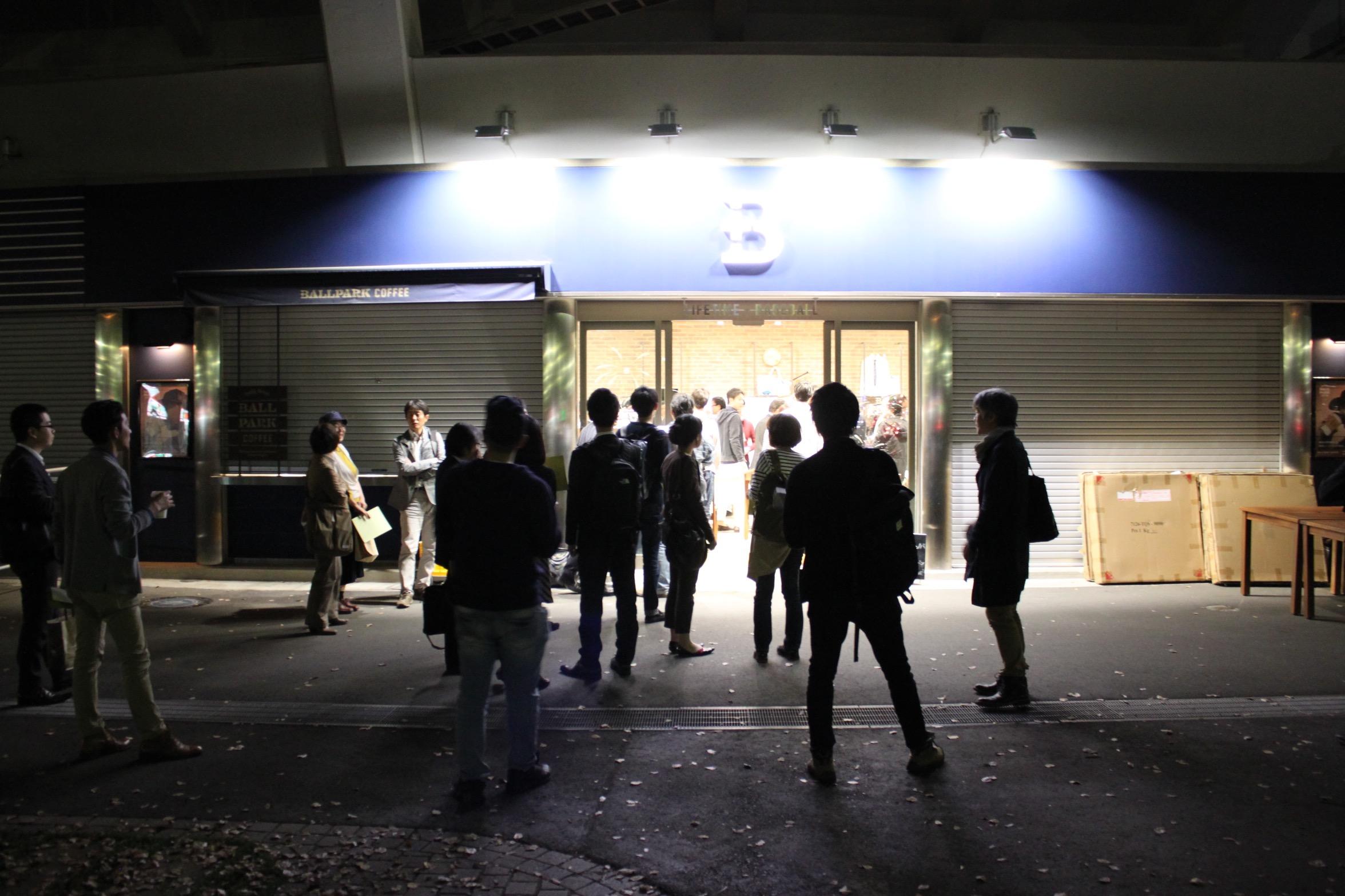 当日会場だった+Bは、横浜スタジアム内のクリエイティブなグッズショップ。