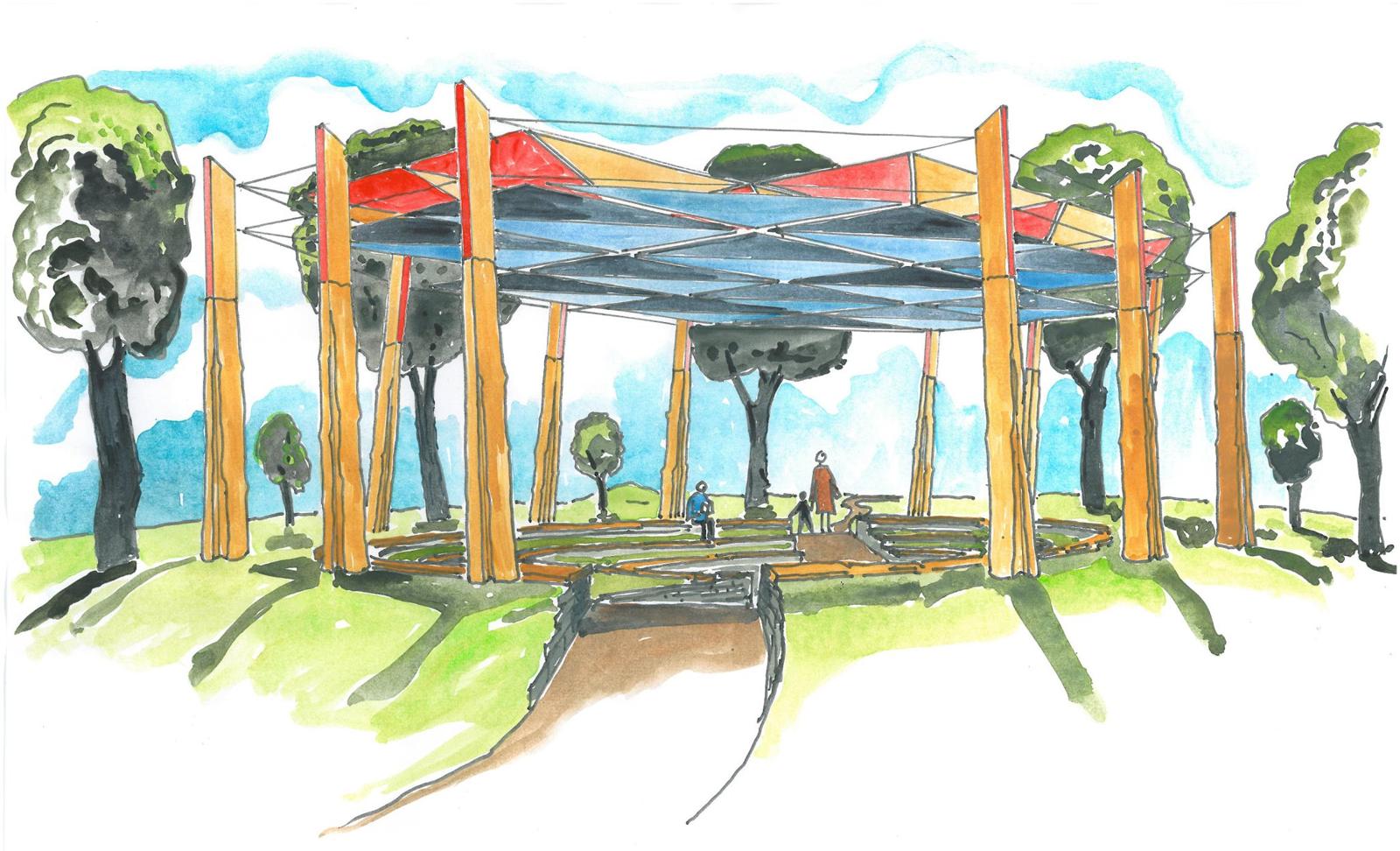 Idea workshopのアイデアを反映してできた空間デザイン(by Pomegranate Center)