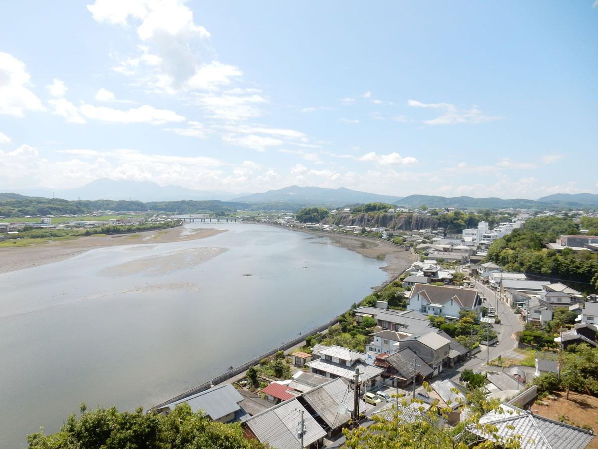 八坂川と杵築のまち photo by Suzuna MIKURINO
