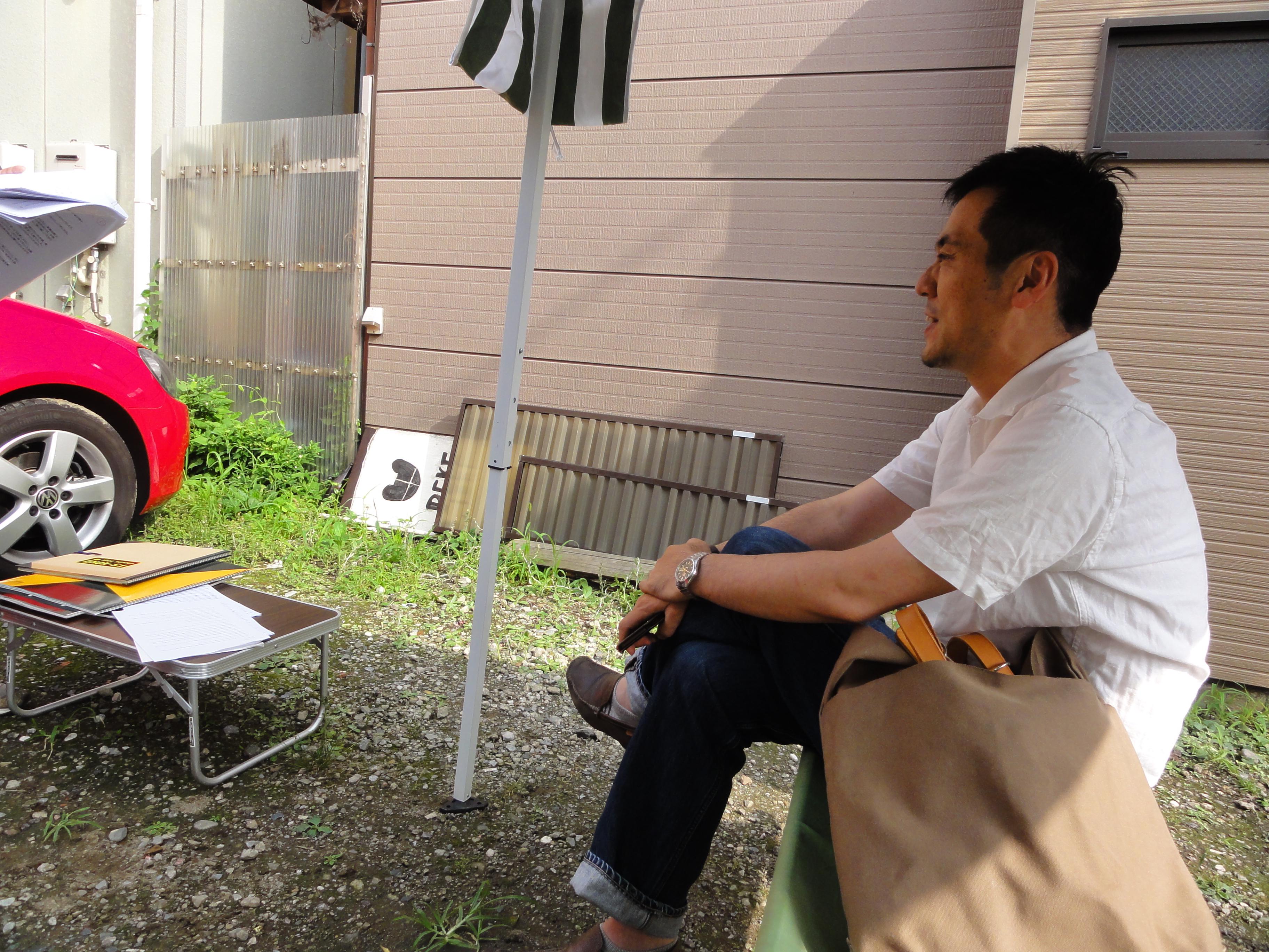 牧住さん自身、「貸はらっぱ音地」で催されるイベントを楽しむ参加者でもあります。