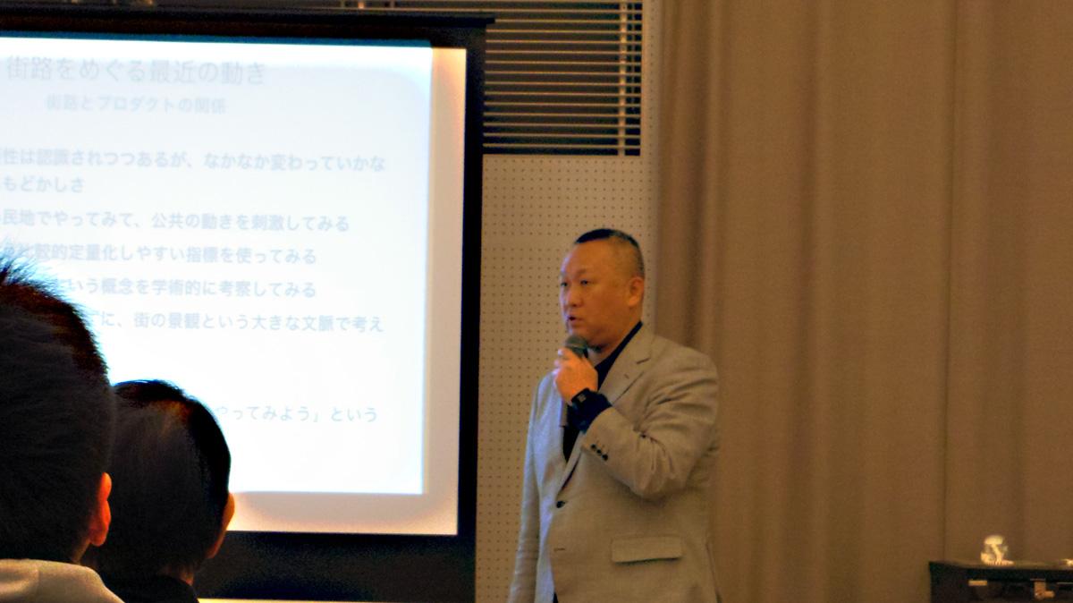 3人目のパネリスト中野竜さん Photo by Ayano Kumazawa
