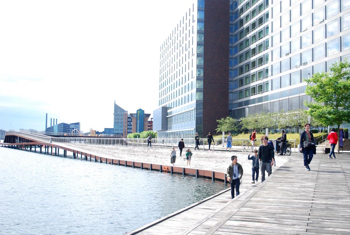 Juul Frost Architectsがコンセプトデザインをしたパブリックスペース