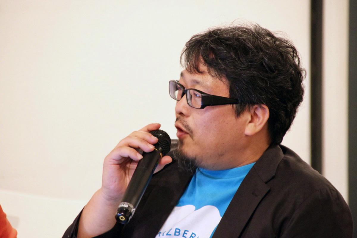 渋谷のハロウィンなど、パブリックスペースがみんなで盛り上がる場となる兆しを感じている、と語る岩本さん。ソトノバについては「熱意で回しているというところ、尊敬している。『賑やか』が素晴らしい!とみなされているけれど、まちを良くすることにつなげるよう頑張ってほしい」と激励
