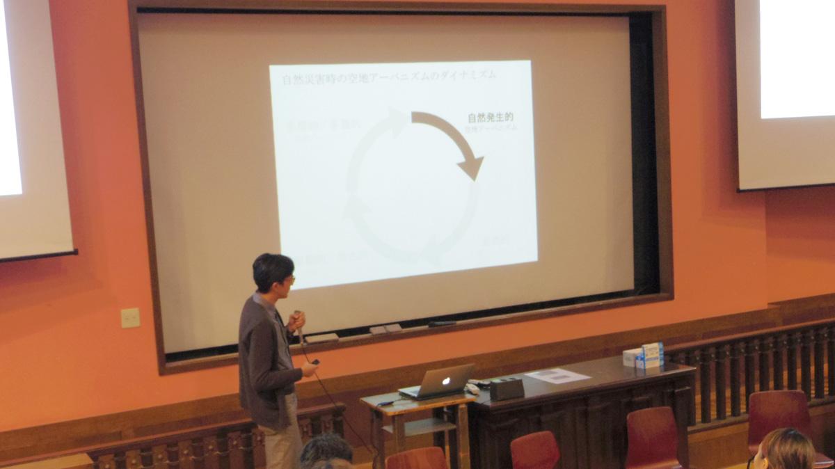 熊本大学大学院の星野裕司さん Photo by Ayano KUMAZAWA