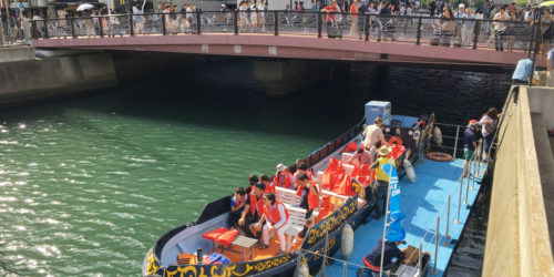 え?まちなかを船で移動できるの? 水辺活用の可能性を探る横浜駅西口テストクルーズ・レポート!