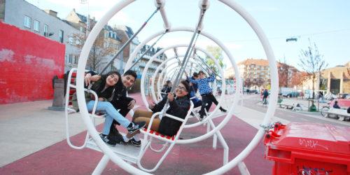 日本代表はあの遊具! 60カ国の住民に開かれた交流を生む公園「スーパーキーレン」