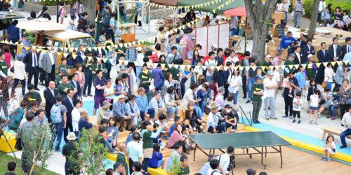 住民それぞれの「これやりたい!」を詰め込んだ、 老若男女が楽しめる団地の広場「左近山みんなのにわ」(ソトノバ・アワード2017一次WEB投票記事)