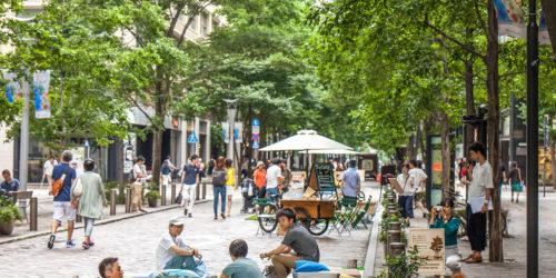 都心ストリートで五感を刺激! 東京・丸の内仲通り「利活用アイデア実験祭」レポート
